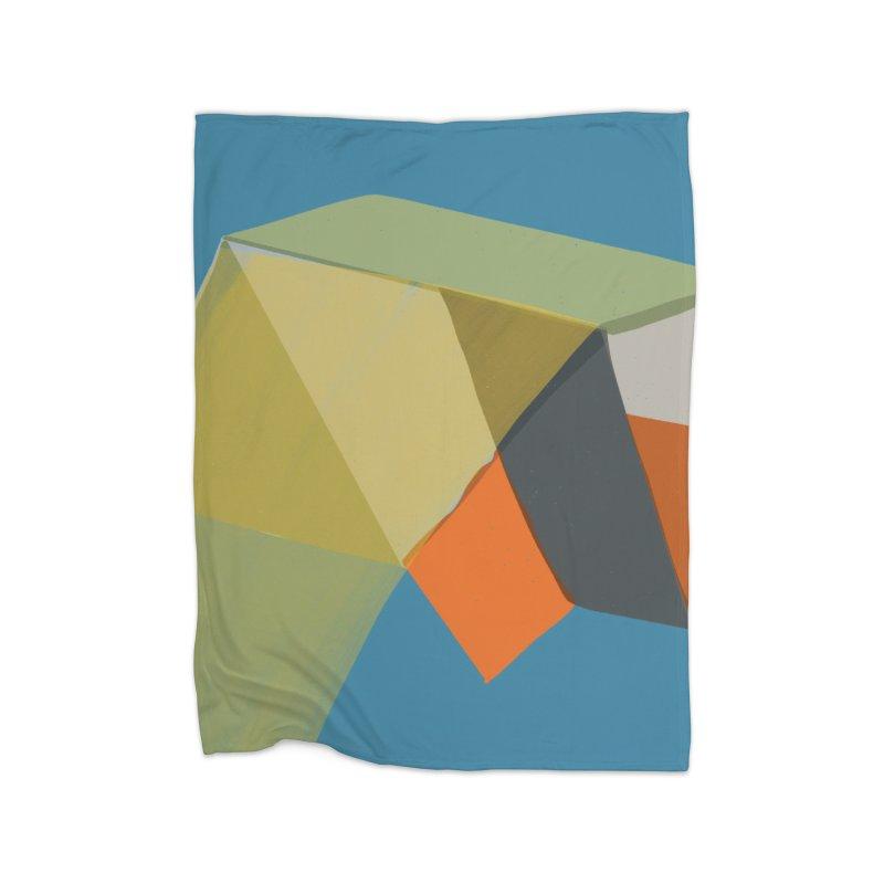 Imaginary Architecture 12 Home Fleece Blanket Blanket by Michael Pfleghaar