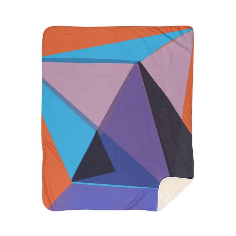 Imaginary Architecture 13 Home Sherpa Blanket Blanket by Michael Pfleghaar