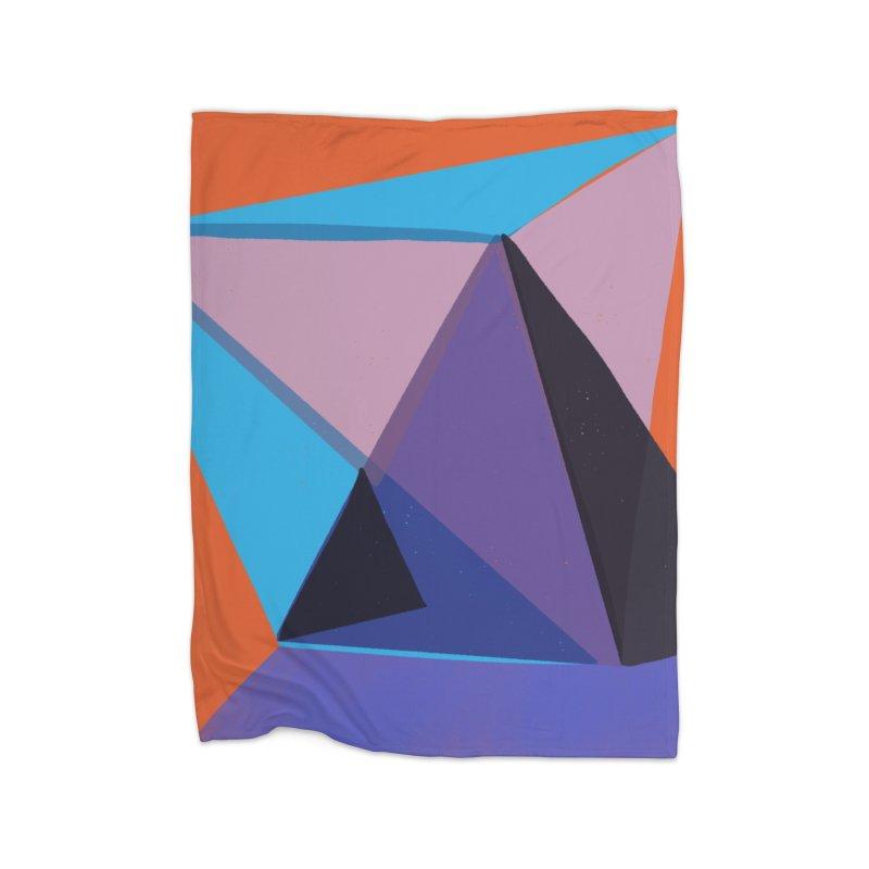 Imaginary Architecture 13 Home Fleece Blanket Blanket by Michael Pfleghaar