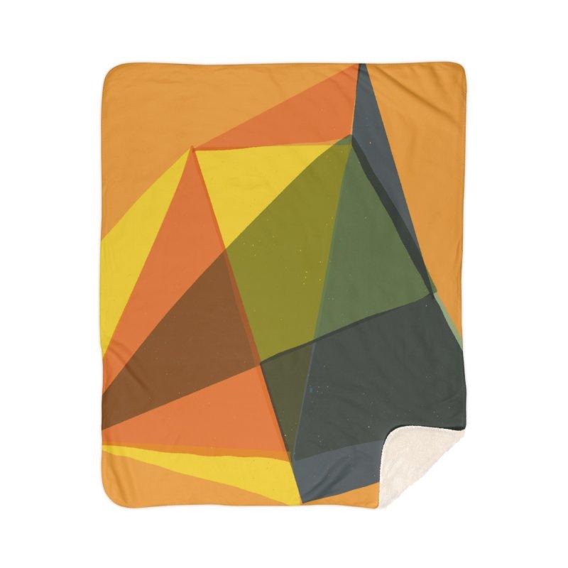 Imaginary Architecture 14 Home Sherpa Blanket Blanket by Michael Pfleghaar