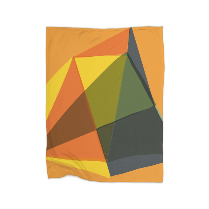 Imaginary Architecture 14 Home Fleece Blanket Blanket by Michael Pfleghaar