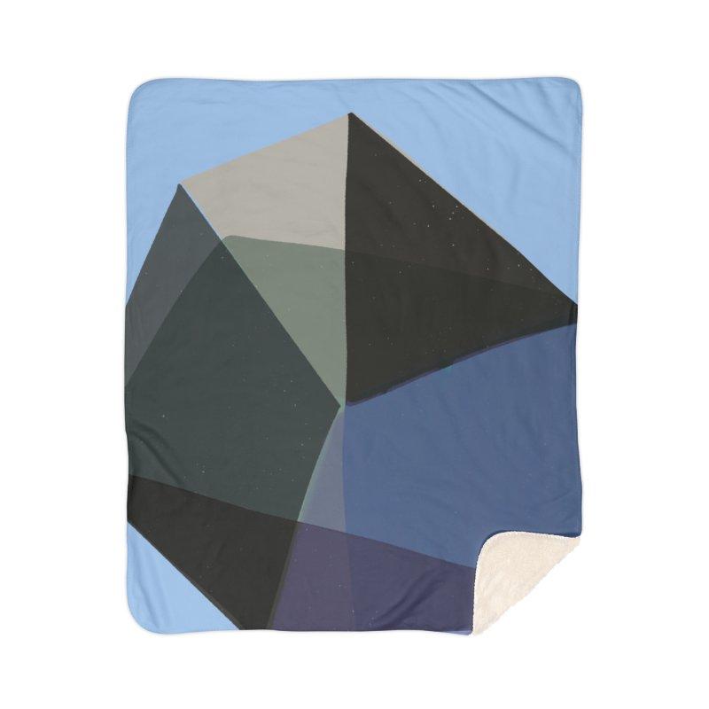 Classic Blue 1 Home Sherpa Blanket Blanket by Michael Pfleghaar