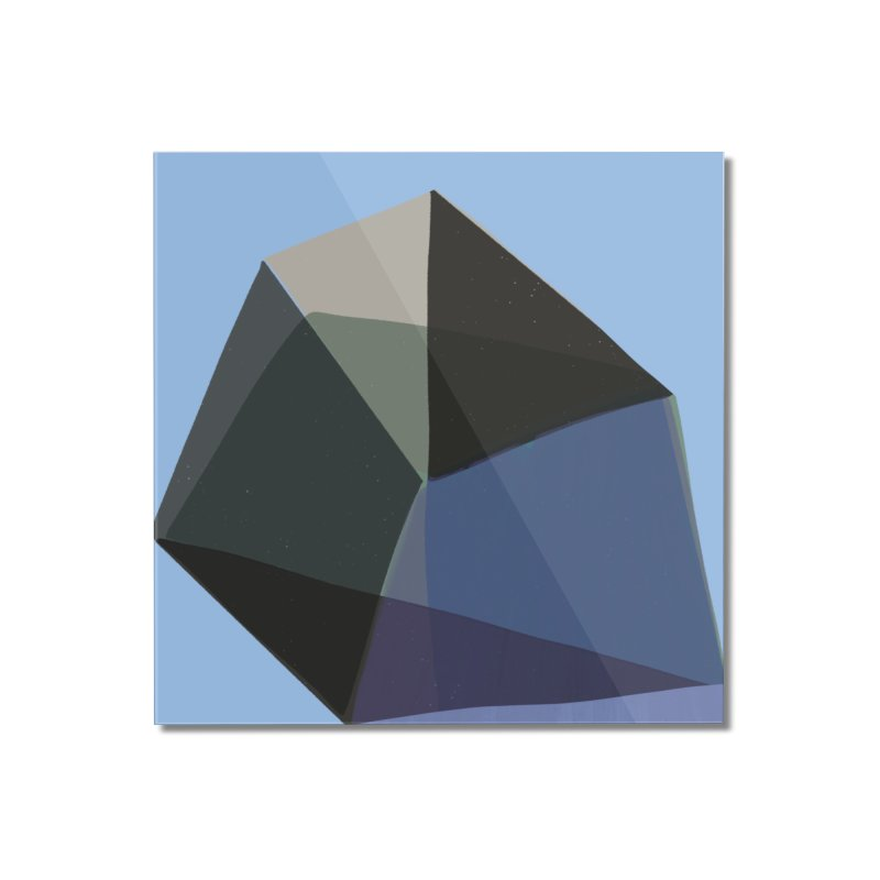 Classic Blue 1 Home Mounted Acrylic Print by Michael Pfleghaar