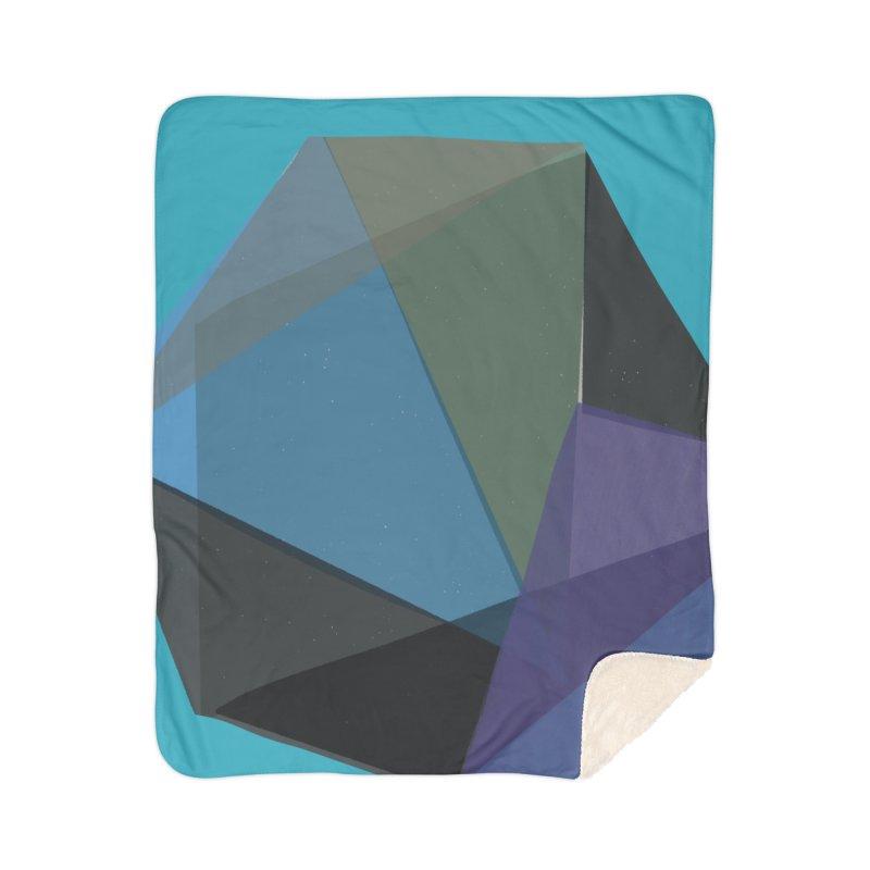 Classic Blue 2 Home Sherpa Blanket Blanket by Michael Pfleghaar