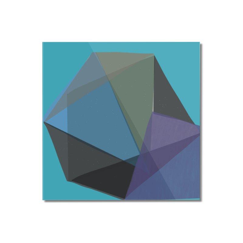 Classic Blue 2 Home Mounted Acrylic Print by Michael Pfleghaar