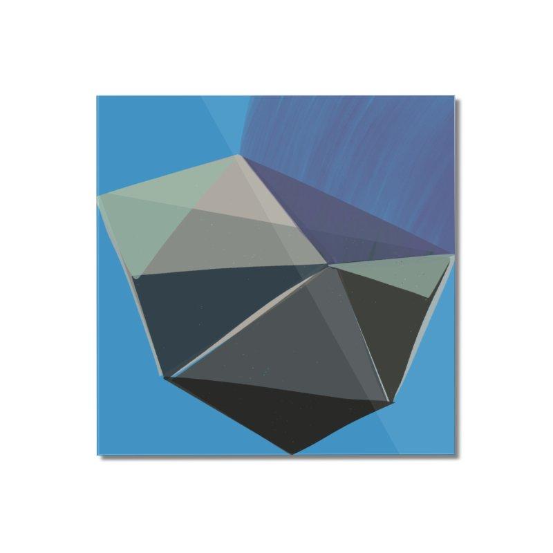 Classic Blue 3 Home Mounted Acrylic Print by Michael Pfleghaar