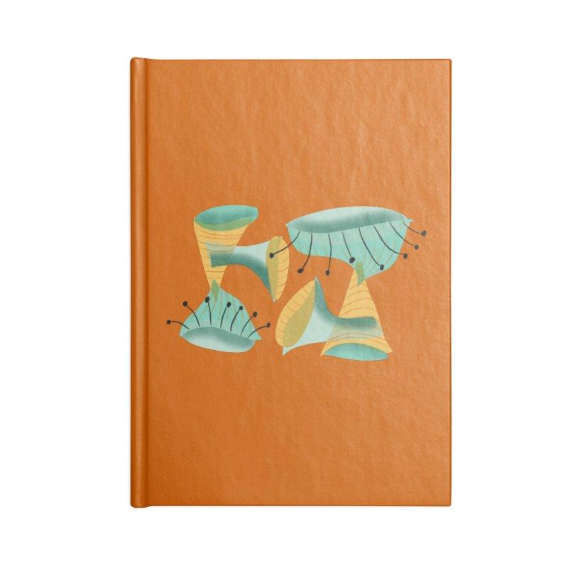 Miroish 2 Accessories Blank Journal Notebook by Michael Pfleghaar