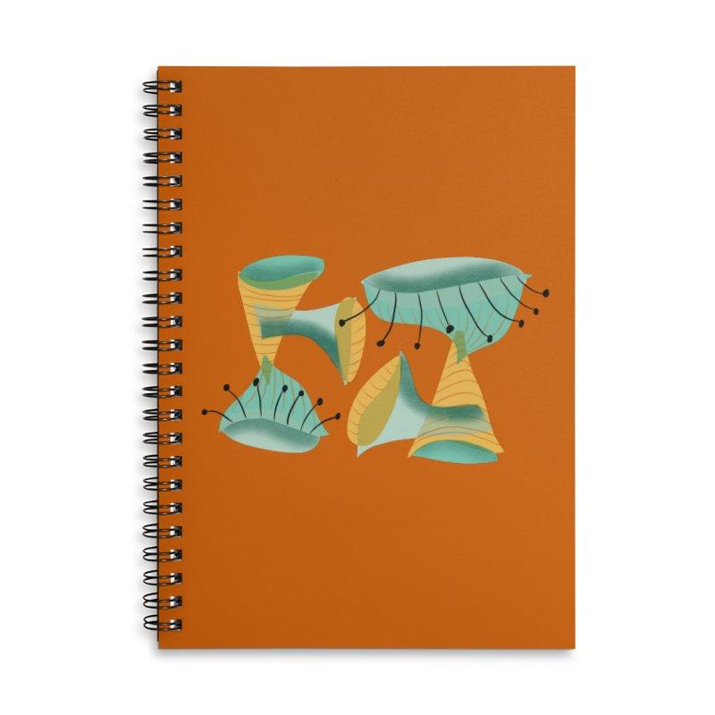 Miroish 2 Accessories Lined Spiral Notebook by Michael Pfleghaar