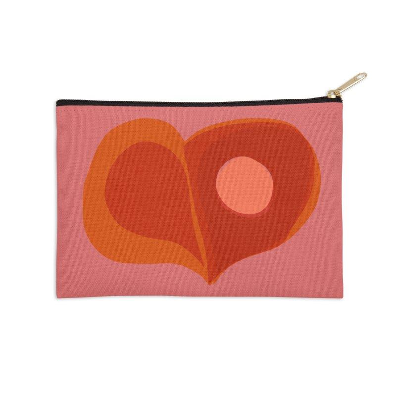 Hole in the Heart in Zip Pouch by Michael Pfleghaar