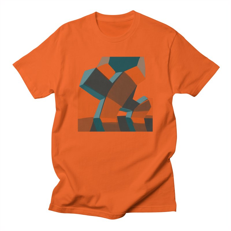 Transformers 1 in Men's Regular T-Shirt Orange Poppy by Michael Pfleghaar