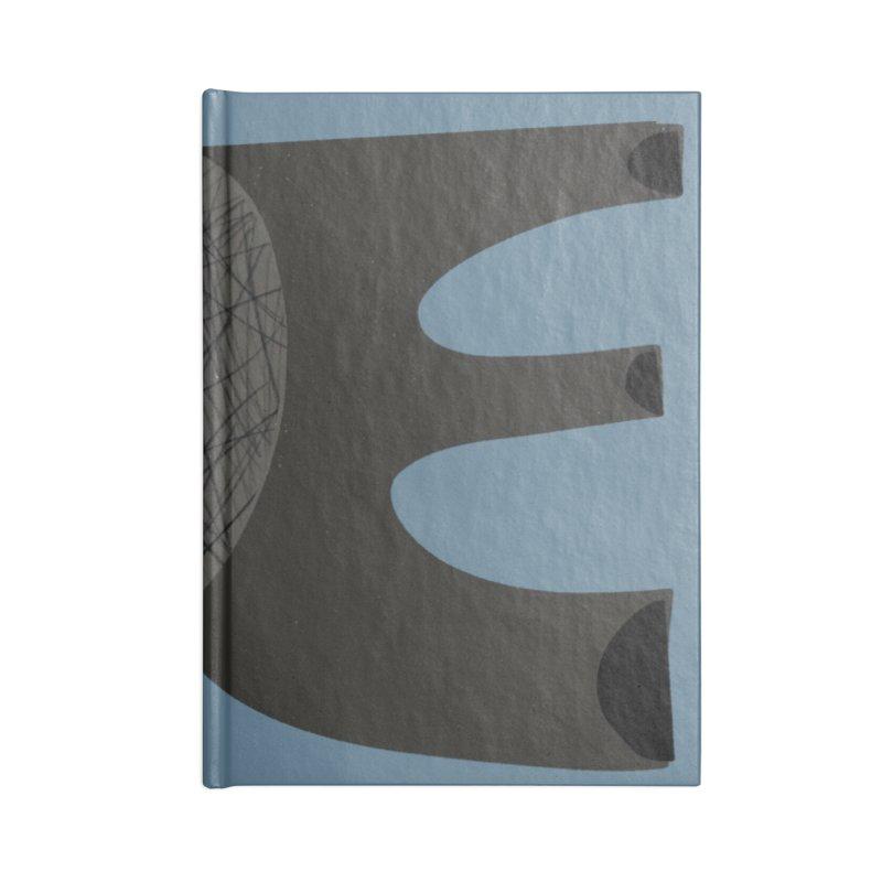 Open Accessories Blank Journal Notebook by Michael Pfleghaar