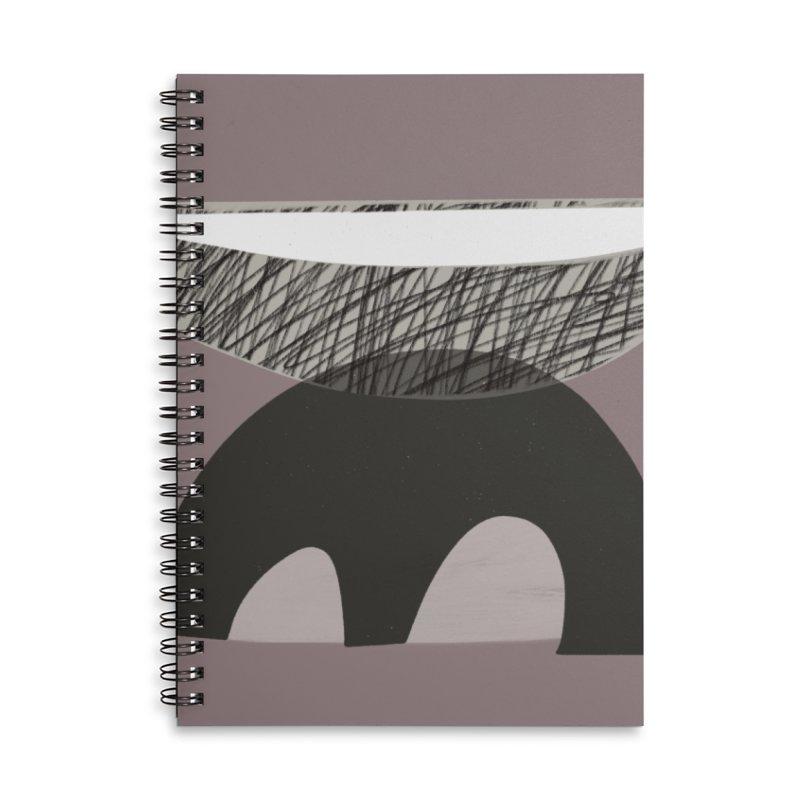 Balance Accessories Lined Spiral Notebook by Michael Pfleghaar