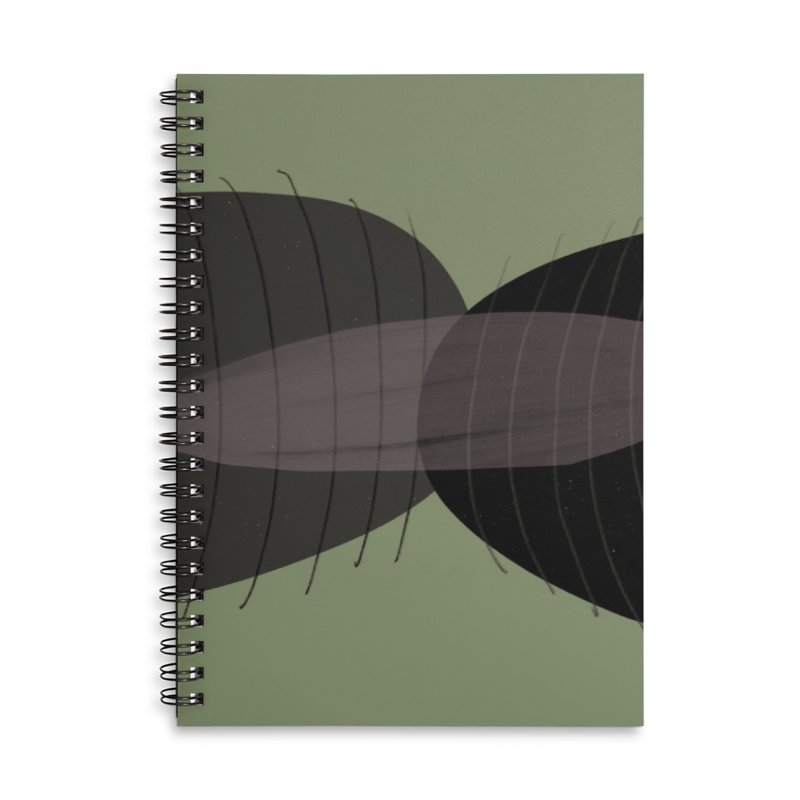 Vibrate Accessories Lined Spiral Notebook by Michael Pfleghaar