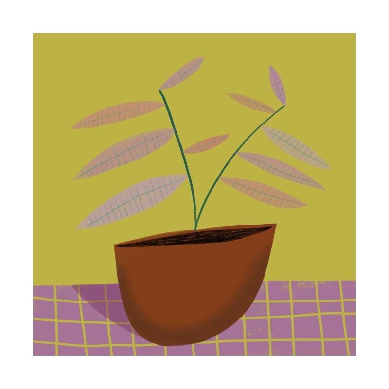 Pastel Plant 2 Home Framed Fine Art Print by Michael Pfleghaar