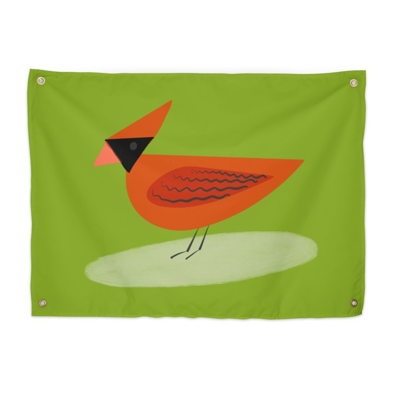 Cardinal Home Tapestry by Michael Pfleghaar