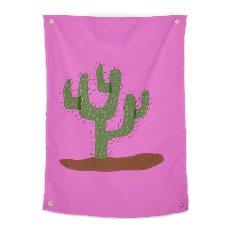 Saguaro Cactus Home Tapestry by Michael Pfleghaar