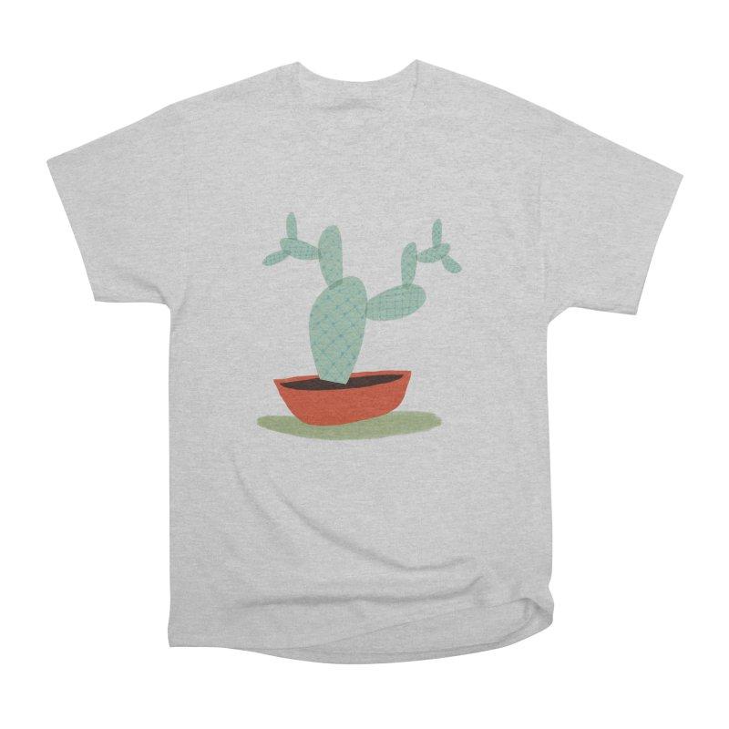 Paddle Cactus Men's Heavyweight T-Shirt by Michael Pfleghaar