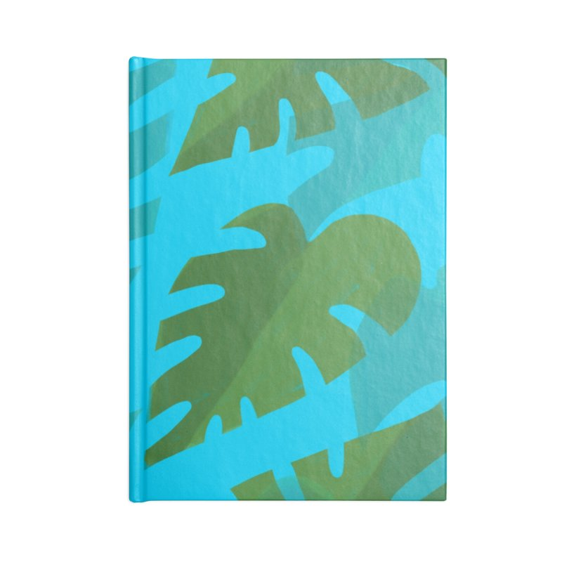 Philodendron Field Accessories Blank Journal Notebook by Michael Pfleghaar