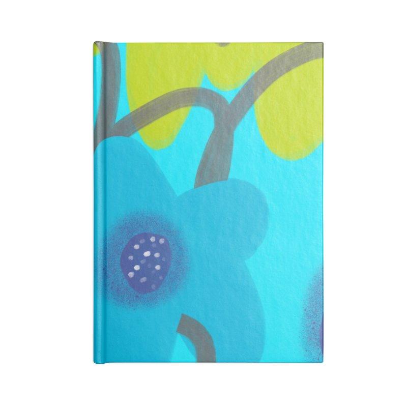 Big Blooms Accessories Blank Journal Notebook by Michael Pfleghaar