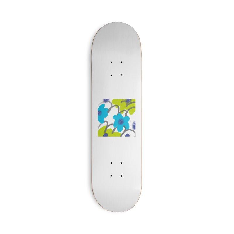 Big Blooms Accessories Deck Only Skateboard by Michael Pfleghaar