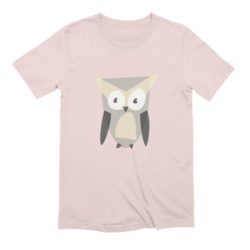 Owl Men's Extra Soft T-Shirt by Michael Pfleghaar