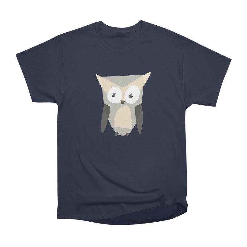 Owl Men's Heavyweight T-Shirt by Michael Pfleghaar