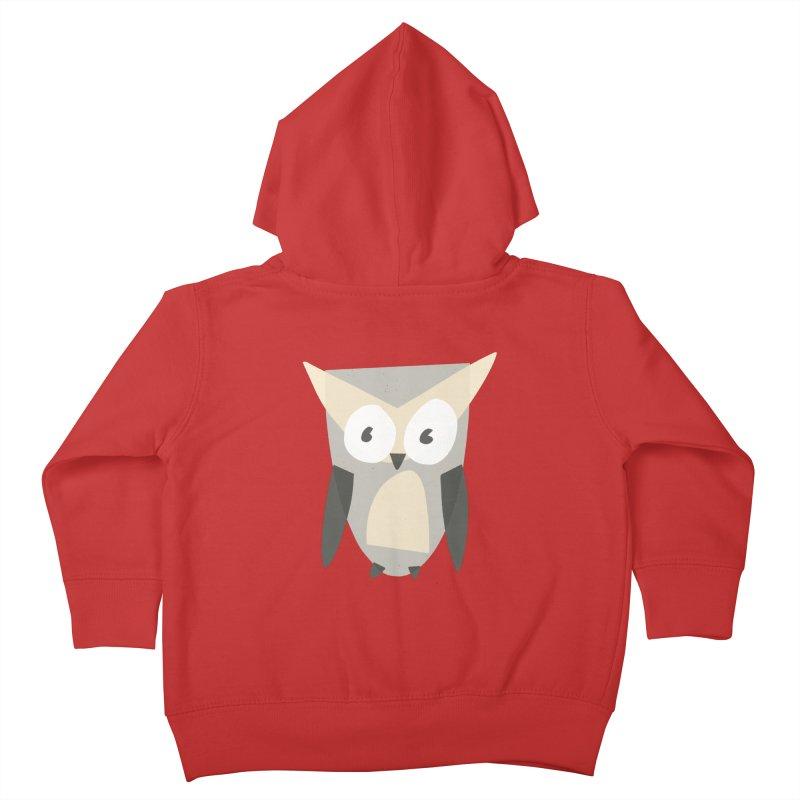 Owl Kids Toddler Zip-Up Hoody by Michael Pfleghaar