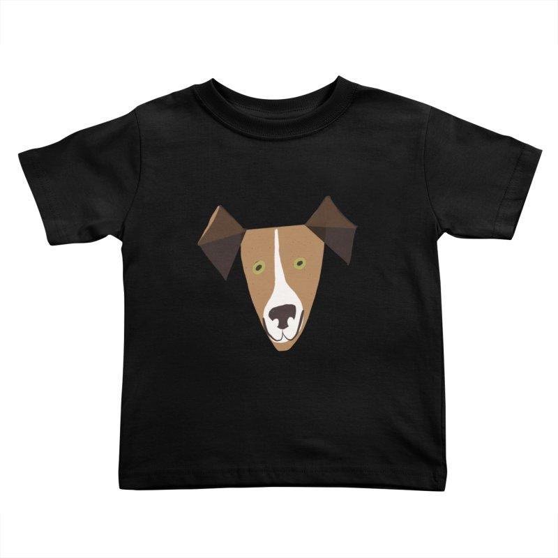 Dog Face 1 Kids Toddler T-Shirt by Michael Pfleghaar