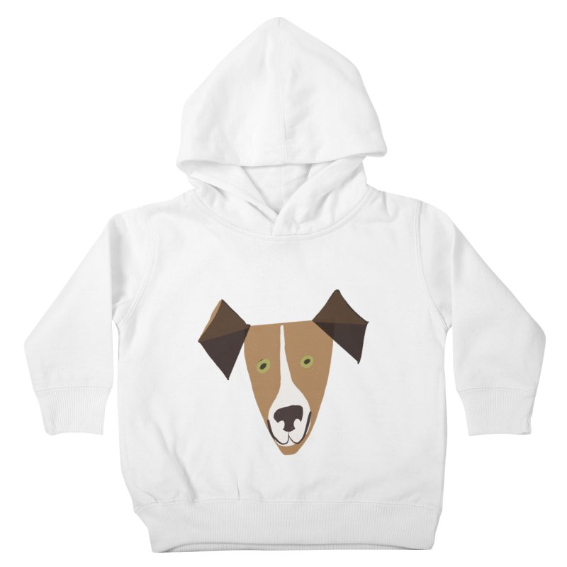 Dog Face 1 Kids Toddler Pullover Hoody by Michael Pfleghaar