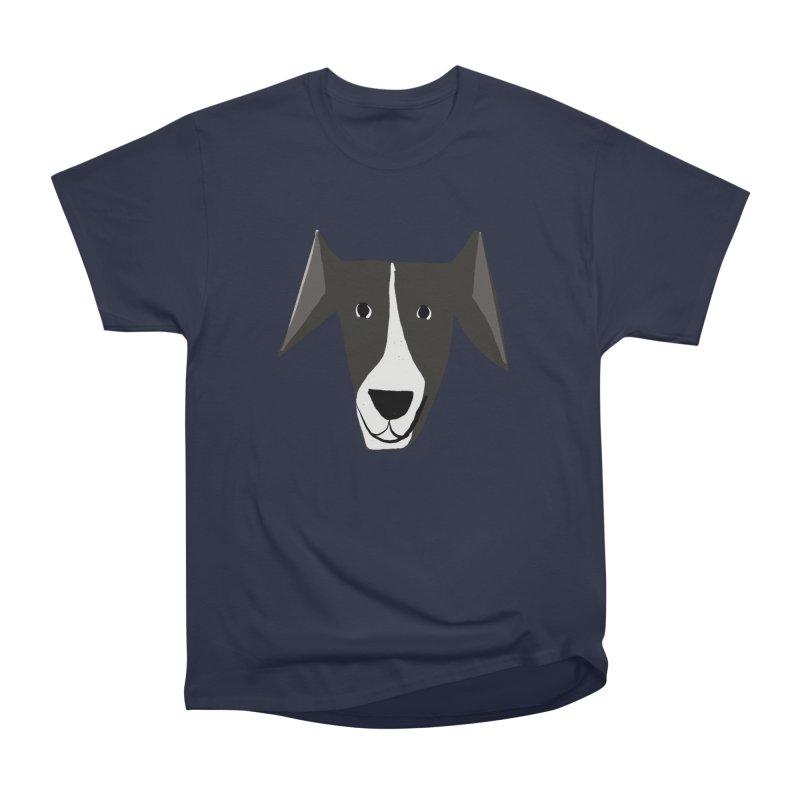 Dog Face 2 Men's Heavyweight T-Shirt by Michael Pfleghaar