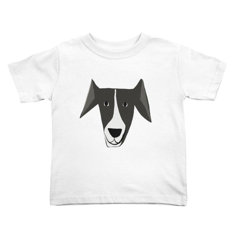 Dog Face 2 Kids Toddler T-Shirt by Michael Pfleghaar