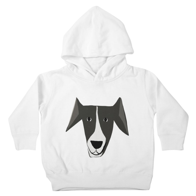 Dog Face 2 Kids Toddler Pullover Hoody by Michael Pfleghaar