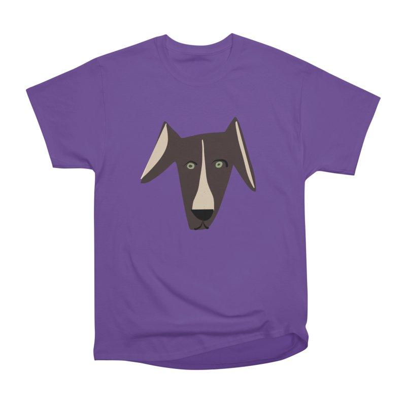 Dog Face 3 Men's Heavyweight T-Shirt by Michael Pfleghaar