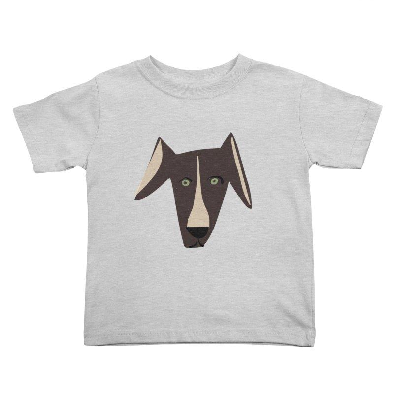 Dog Face 3 Kids Toddler T-Shirt by Michael Pfleghaar
