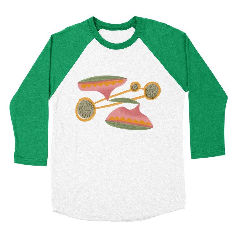 Scales Men's Baseball Triblend Longsleeve T-Shirt by Michael Pfleghaar