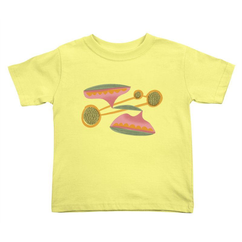 Scales Kids Toddler T-Shirt by Michael Pfleghaar