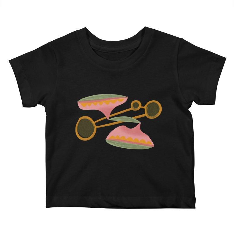 Scales Kids Baby T-Shirt by Michael Pfleghaar