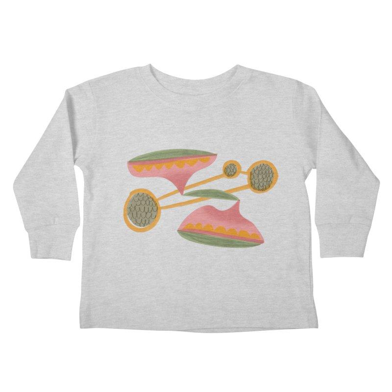 Scales Kids Toddler Longsleeve T-Shirt by Michael Pfleghaar