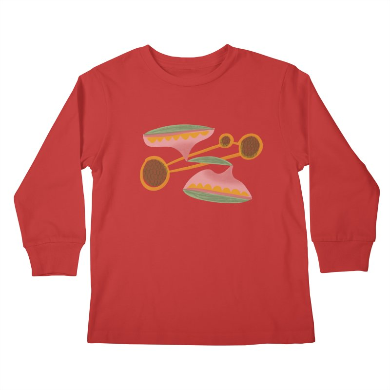 Scales Kids Longsleeve T-Shirt by Michael Pfleghaar
