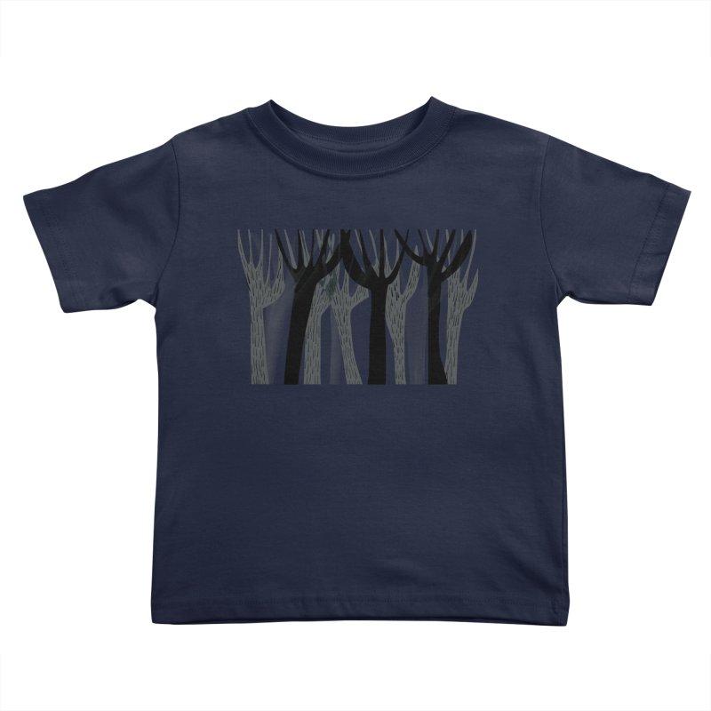 Winter Forest Kids Toddler T-Shirt by Michael Pfleghaar