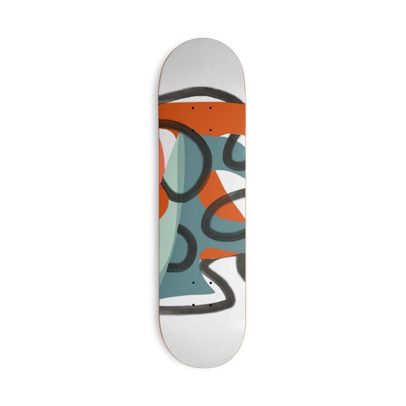 Dance 5 in Deck Only Skateboard by Michael Pfleghaar