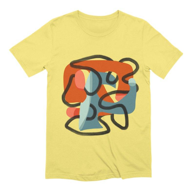 Dance 5 Men's Extra Soft T-Shirt by Michael Pfleghaar