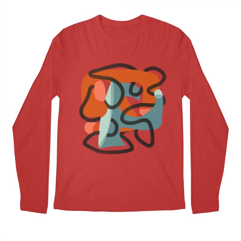 Dance 5 Men's Regular Longsleeve T-Shirt by Michael Pfleghaar