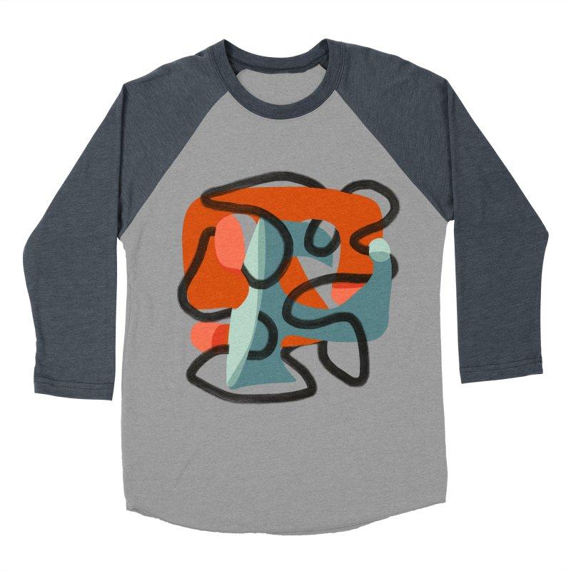 Dance 5 Men's Baseball Triblend Longsleeve T-Shirt by Michael Pfleghaar