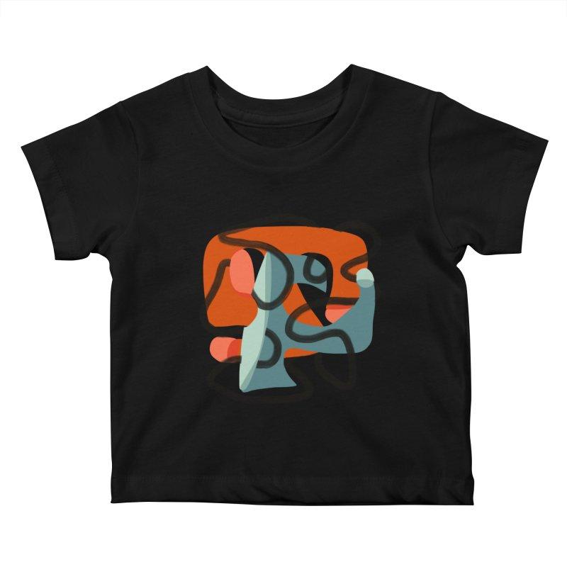 Dance 5 Kids Baby T-Shirt by Michael Pfleghaar