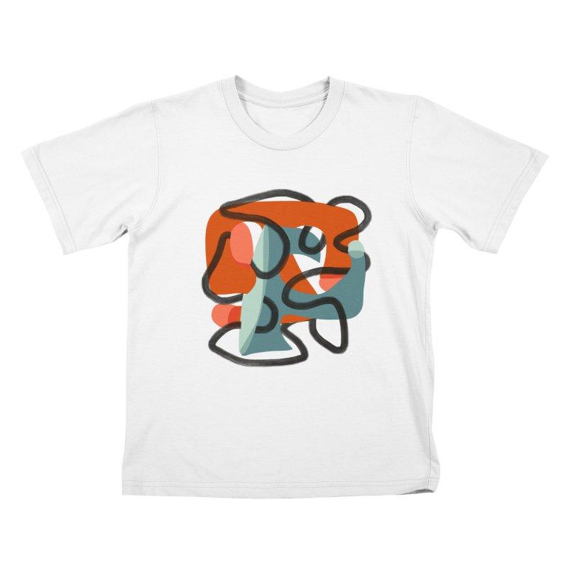 Dance 5 Kids T-Shirt by Michael Pfleghaar