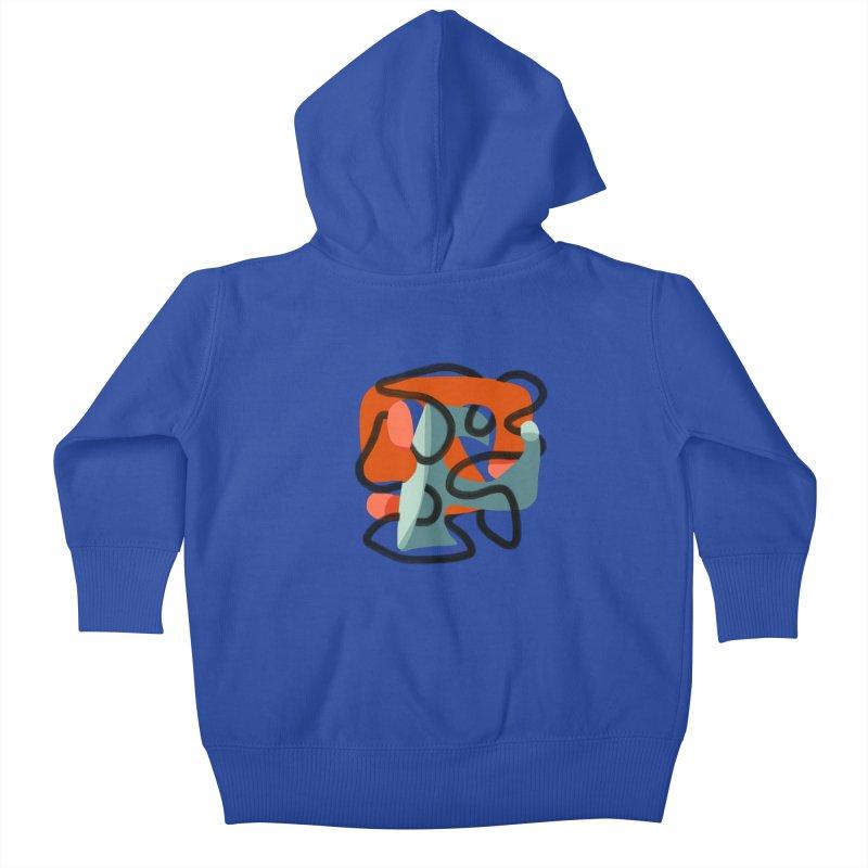 Dance 5 Kids Baby Zip-Up Hoody by Michael Pfleghaar