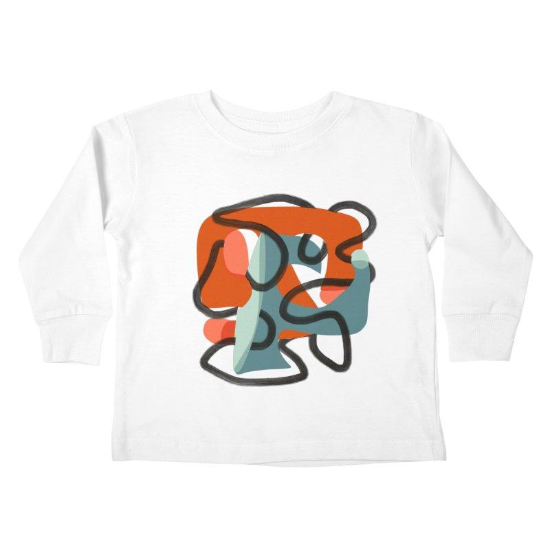 Dance 5 Kids Toddler Longsleeve T-Shirt by Michael Pfleghaar