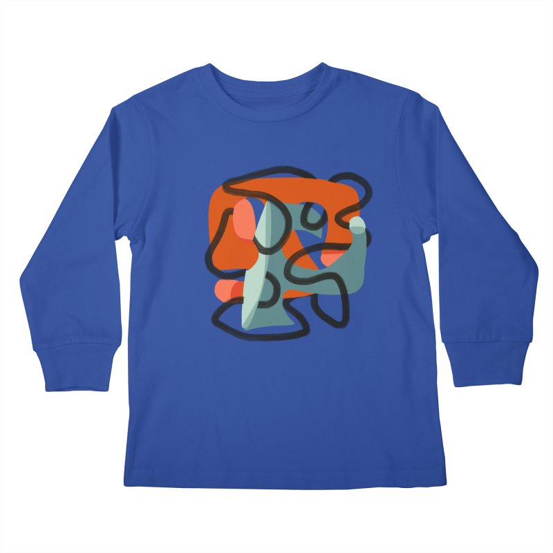 Dance 5 Kids Longsleeve T-Shirt by Michael Pfleghaar