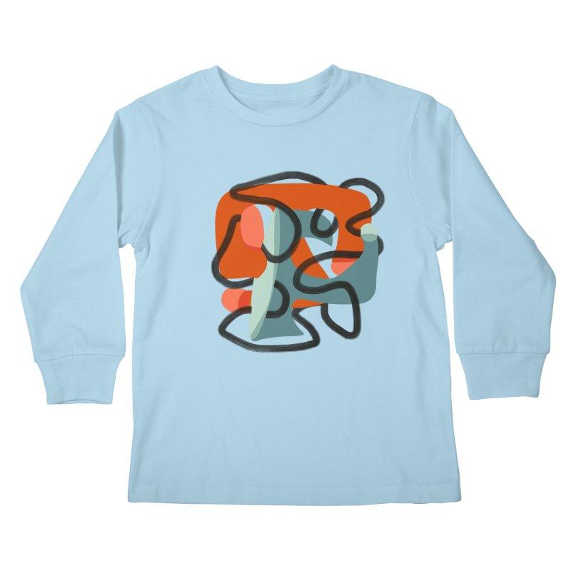 Dance 5 Kids Longsleeve T-Shirt by Michael Pfleghaar